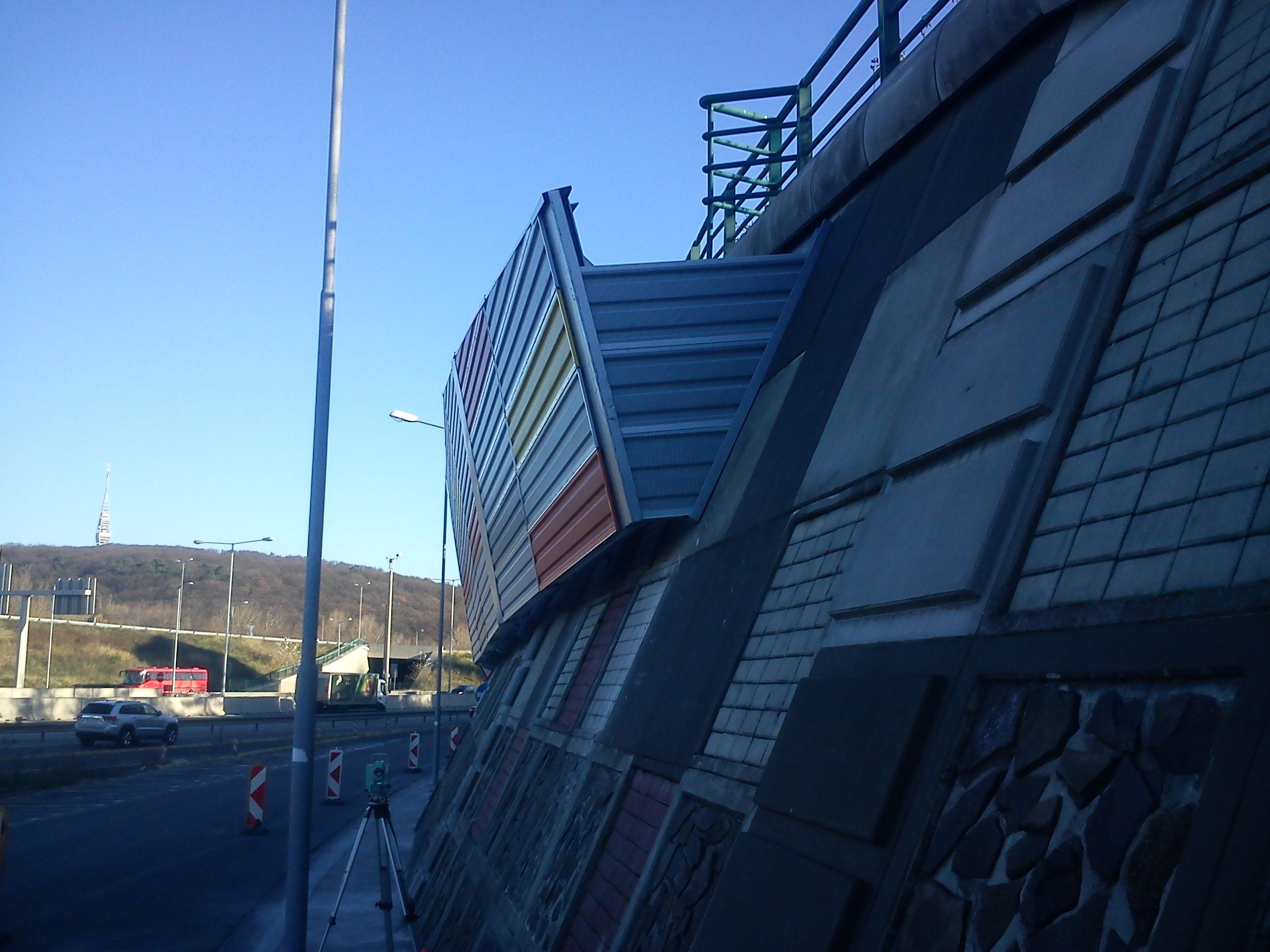 Bratislava protihlukova stena